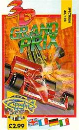 Box cover for 3D Grand Prix Championship on the Sinclair ZX Spectrum.