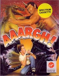 Box cover for Aaargh! on the Sinclair ZX Spectrum.