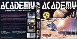 Box cover for Academy: Tau Ceti II on the Sinclair ZX Spectrum.