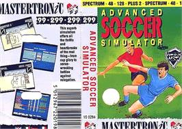 Box cover for Advanced Ski Simulator on the Sinclair ZX Spectrum.
