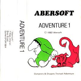 Box cover for Adventureland on the Sinclair ZX Spectrum.