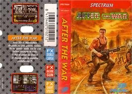 Box cover for After the War on the Sinclair ZX Spectrum.