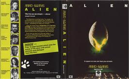 Box cover for Alien on the Sinclair ZX Spectrum.