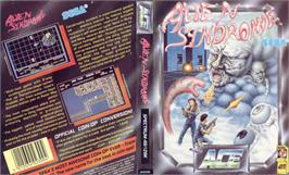 Box cover for Alien Syndrome on the Sinclair ZX Spectrum.