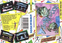 Box cover for Anfractuos on the Sinclair ZX Spectrum.