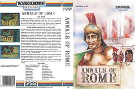 Box cover for Annals of Rome on the Sinclair ZX Spectrum.