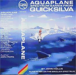 Box cover for Aquaplane on the Sinclair ZX Spectrum.
