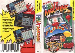 Box cover for Arcade Fruit Machine on the Sinclair ZX Spectrum.