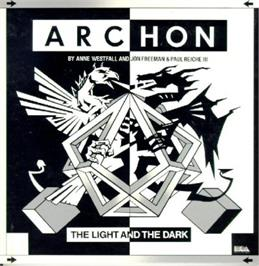 Box cover for Archon: The Light and the Dark on the Sinclair ZX Spectrum.