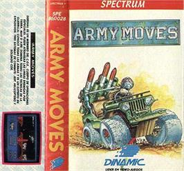 Box cover for Army Moves on the Sinclair ZX Spectrum.