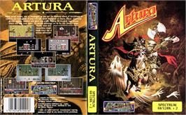 Box cover for Artura on the Sinclair ZX Spectrum.