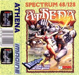 Box cover for Athena on the Sinclair ZX Spectrum.