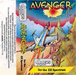 Box cover for Avenger on the Sinclair ZX Spectrum.