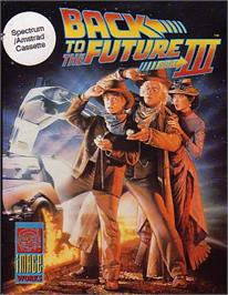 Box cover for Back to the Future Part III on the Sinclair ZX Spectrum.