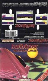 Box cover for Ballblazer on the Sinclair ZX Spectrum.