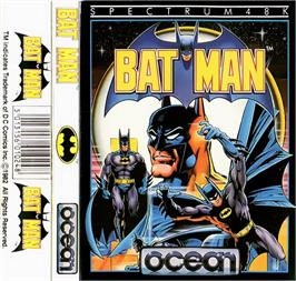 Box cover for Batman on the Sinclair ZX Spectrum.