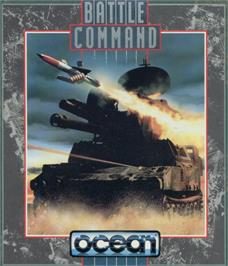 Box cover for Battle Command on the Sinclair ZX Spectrum.