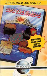 Box cover for Battleship on the Sinclair ZX Spectrum.
