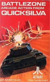 Box cover for Battlezone on the Sinclair ZX Spectrum.