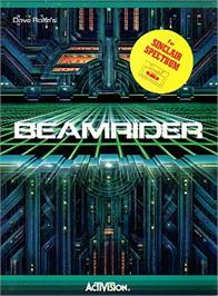 Box cover for Beamrider on the Sinclair ZX Spectrum.