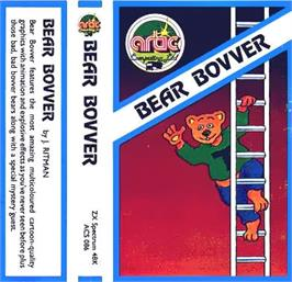 Box cover for Bear Bovver on the Sinclair ZX Spectrum.
