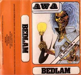 Box cover for Bedlam on the Sinclair ZX Spectrum.