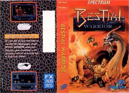 Box cover for Bestial Warrior on the Sinclair ZX Spectrum.