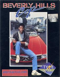 Box cover for Beverly Hills Cop on the Sinclair ZX Spectrum.