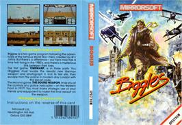 Box cover for Biggles on the Sinclair ZX Spectrum.