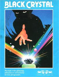 Box cover for Black Crystal on the Sinclair ZX Spectrum.