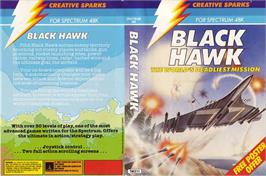Box cover for Black Hawk on the Sinclair ZX Spectrum.