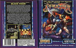 Box cover for Black Tiger on the Sinclair ZX Spectrum.