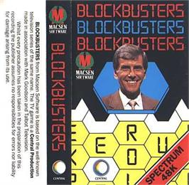 Box cover for Blockbuster on the Sinclair ZX Spectrum.