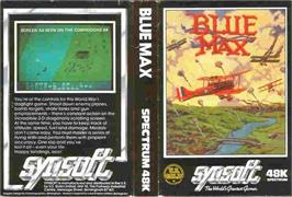 Box cover for Blue Max on the Sinclair ZX Spectrum.