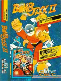 Box cover for Bomb Jack II on the Sinclair ZX Spectrum.
