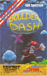 Box cover for Boulder Dash on the Sinclair ZX Spectrum.