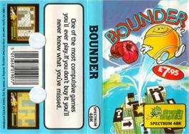Box cover for Bounder on the Sinclair ZX Spectrum.