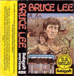 Box cover for Bruce Lee on the Sinclair ZX Spectrum.