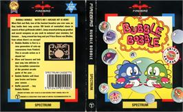 Box cover for Bubble Bobble on the Sinclair ZX Spectrum.