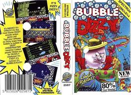 Box cover for Bubble Dizzy on the Sinclair ZX Spectrum.