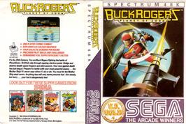 Box cover for Buck Rogers: Planet of Zoom on the Sinclair ZX Spectrum.