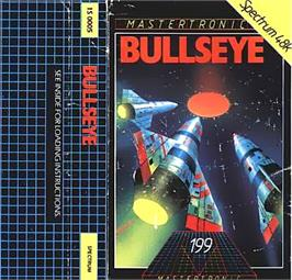 Box cover for Bullseye on the Sinclair ZX Spectrum.