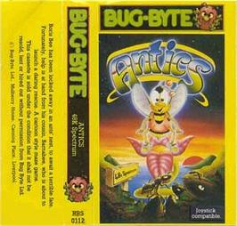 Box cover for The Birds and the Bees II: Antics on the Sinclair ZX Spectrum.