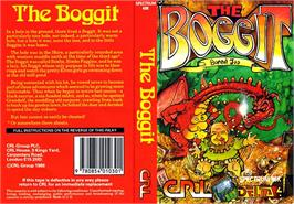 Box cover for The Boggit on the Sinclair ZX Spectrum.