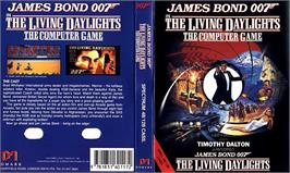 Box cover for The Living Daylights on the Sinclair ZX Spectrum.