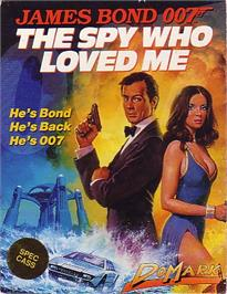 Box cover for The Spy Who Loved Me on the Sinclair ZX Spectrum.