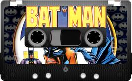 Cartridge artwork for Batman on the Sinclair ZX Spectrum.
