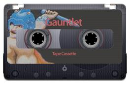 Cartridge artwork for Gauntlet on the Sinclair ZX Spectrum.