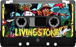 Cartridge artwork for Livingstone Supongo 2 on the Sinclair ZX Spectrum.