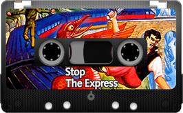 Cartridge artwork for Stop the Express on the Sinclair ZX Spectrum.